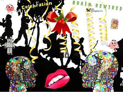 Brain Rewired Art Print