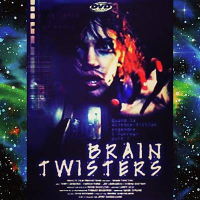 Photograph - brain Twisters Is One Creepy by XPUNKWOLFMANX Jeff Padget