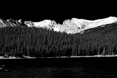 Brainard Lake - Indian Peaks Art Print by James BO  Insogna