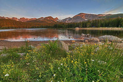 Print featuring the photograph Brainard Lake by Gary Lengyel