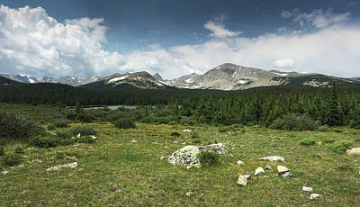 Photograph - Brainard Lake by Mike Irwin