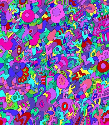 Brain Painting - Brainstorm by Jeff Gater