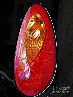 Photograph - Brake Light 70 by Sarah Loft