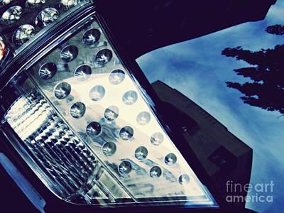 Photograph - Brake Light 76 by Sarah Loft