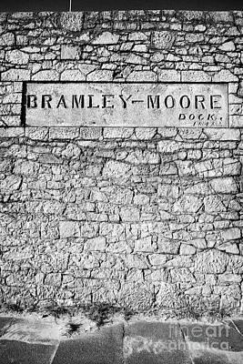 Bramley-moore Dock Liverpool Docks Dockland Uk Art Print by Joe Fox