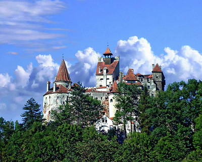 Photograph - Bran Castle by Anthony Dezenzio