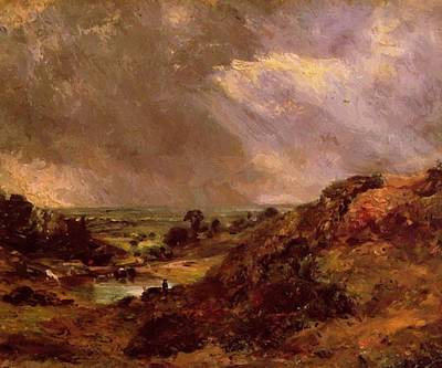 Painting - Branch Hill Pond Hampstead 1819 by Constable John