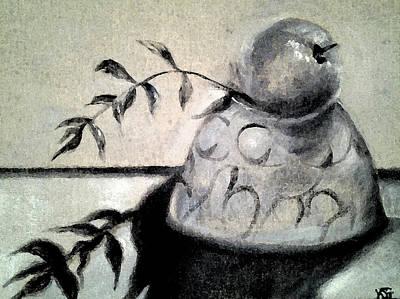 Painting - Branch Shadow by Kim Shuckhart Gunns