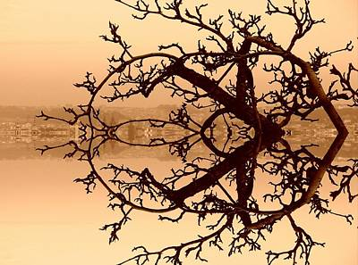 Pucker Up - Branches in Suspension by Christopher Brown