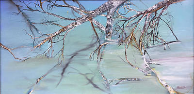 Painting - Branches by Jack Diamond