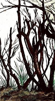 Painting - Branches by Jesus Nicolas Castanon