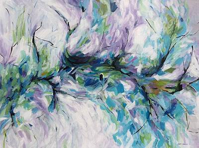 Ann Holder Painting - Branching Out by Ann Holder