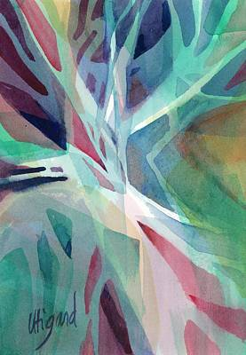 Painting - Branching Out by Carolyn Utigard Thomas