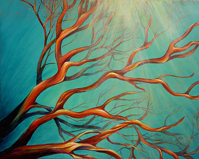 Art Print featuring the painting Branching Out by Dina Dargo