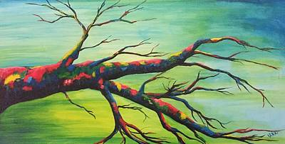 Painting - Branching Out In Color by Vikki Angel