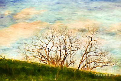 Mixed Media - Branching Out by Kerri Farley