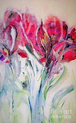 Digital Art - Brand New Bloom Painting by Lisa Kaiser