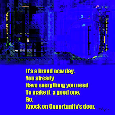 Digital Art - Brand New Day  by Mike Butler