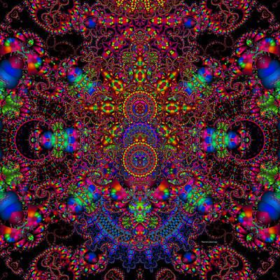 Trippy Digital Art - Branded by Robert Orinski