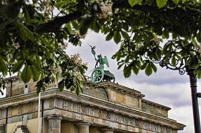Berlin Wall Photograph - Brandenberg Gate by Jon Berghoff