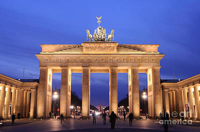 Brandenburg Gate, Berlin Art Print