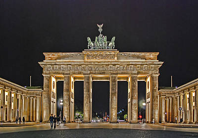 Gate Photograph - Brandenburg Gate by Joachim G Pinkawa