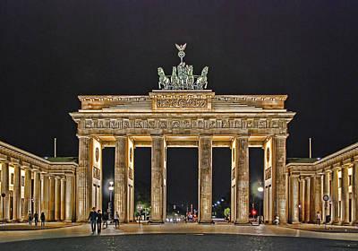 Berlin Photograph - Brandenburg Gate by Joachim G Pinkawa
