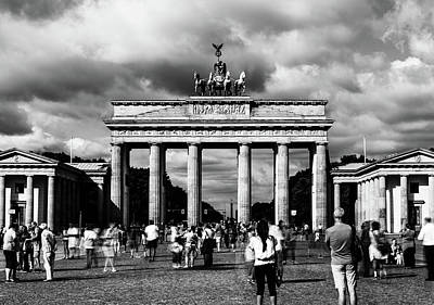 Photograph - Brandenburg Gate by Michael Niessen