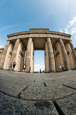 Tourist Attraction Digital Art - Brandenburg Gate  by Nathan Wright