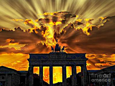 Brandenburg Gate Original by Opulent Creations