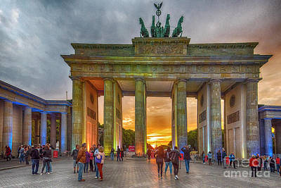 Photograph - Brandenburg Gate by Pravine Chester
