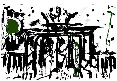 Brandenburger Tor Berlin Original by Enzo Mastrangelo