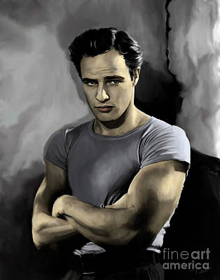 Tag Painting - Brando - Color by Paul Tagliamonte