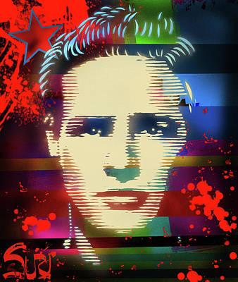 Mixed Media - Brando Odyssey by Surj LA
