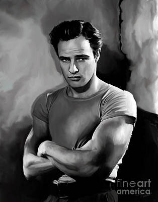Tag Painting - Brando  by Paul Tagliamonte