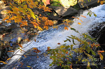 D30a-18 Brandywine Falls Photo Art Print