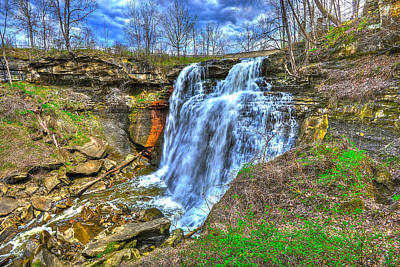 Photograph - Brandywine Falls by Don Mercer