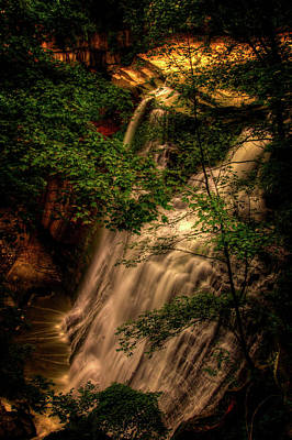 Abstract Graphics - Brandywine Falls From Above by Roger Passman