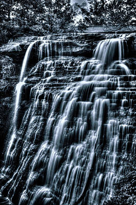 Photograph - Brandywine Falls From Mid-level by Roger Passman