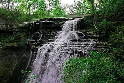 Photograph - Brandywine Falls by Michiale Schneider