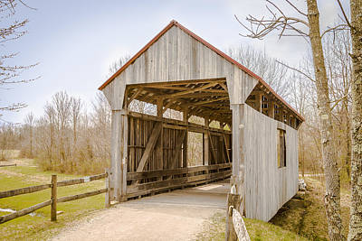 Music Royalty-Free and Rights-Managed Images - Brannon/Wesner/Blackburn Covered Bridge by Jack R Perry