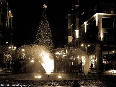 Photograph - Branson Landing Christmas  by Kim Loftis