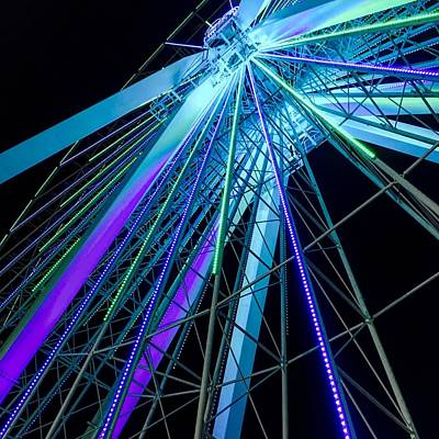 Photograph - Branson Nightlife Up Close by Michael Oceanofwisdom Bidwell