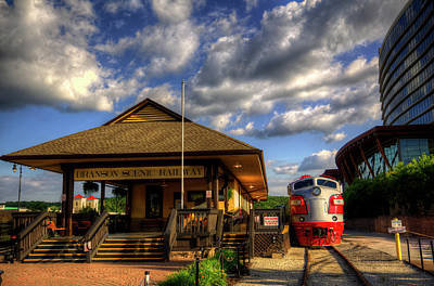 Photograph - Branson Scenic Railway  by Ester Rogers