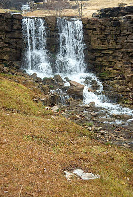 Photograph - Branson Waterfall 4 by Douglas Barnett