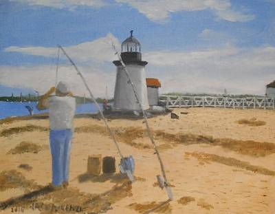 Brant Point Fisherman - Nantucket Original