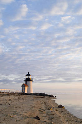 Brant Point Light - Nantucket Art Print by Henry Krauzyk