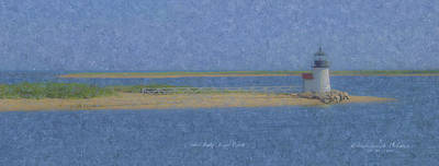 New England Lighthouse Painting - Brant Point Lighthouse by Bill McEntee