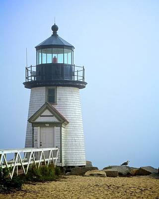 Photograph - Brant Point Lighthouse by Corinne Rhode