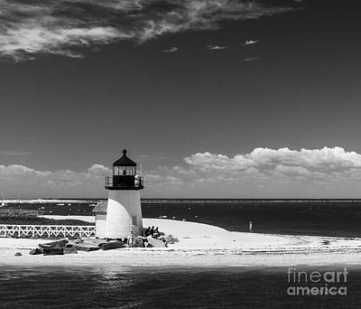 Brant Point Photograph - Brant Point Lighthouse by Michelle Wiarda